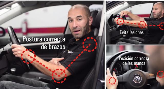 Posición al volante