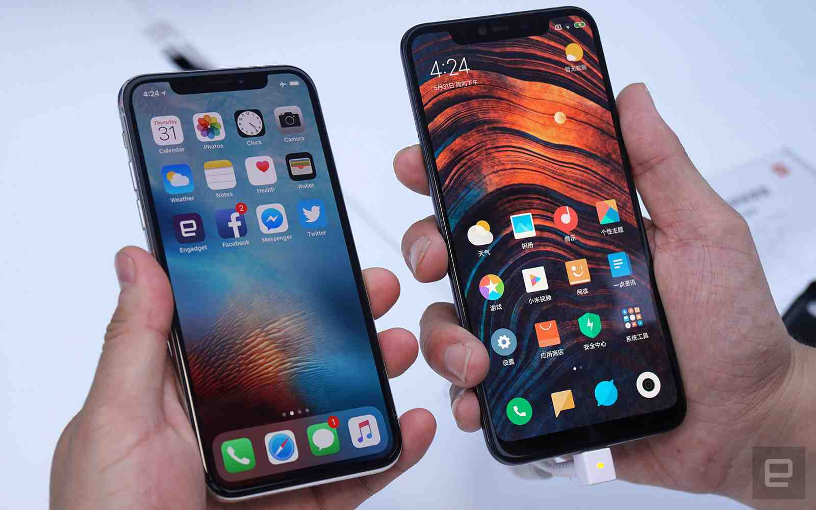 Xiaomi Mi 8 Explorer Vs Apple iPhone X