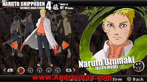 Naruto Impact MOD Naruto Ultimate Ninja Storm 4