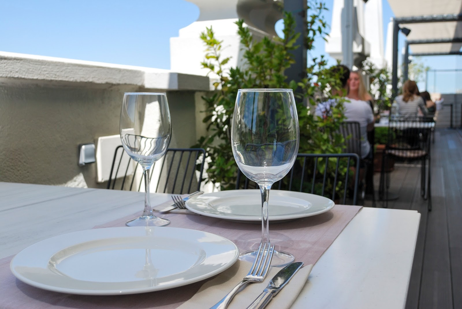 Nice to Meet You restaurant Madrid views terraza 360º dear hotel summer
