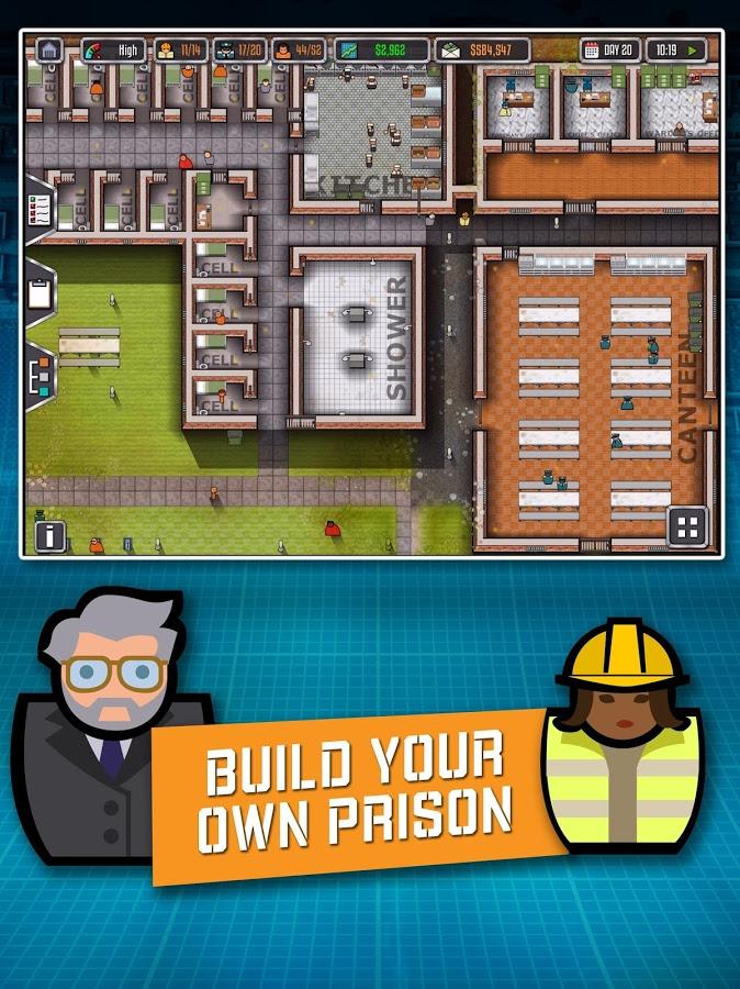 Prison Architect: Mobile v 2.0.9 apk mod DINHEIRO INFINITO