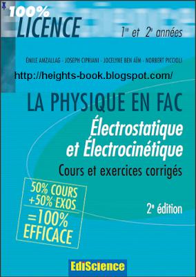 Télécharger Livre Gratuit Électrostatique et électrocinétique pdf