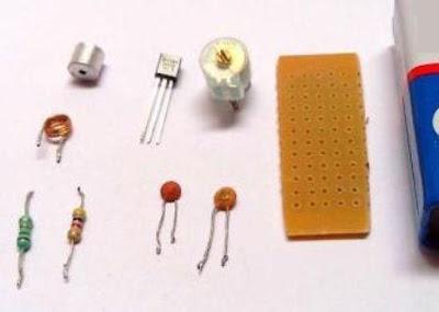 komponen elektronika bikin radio