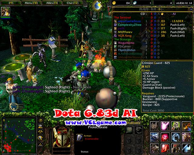 dota 6 83 ai map game2f