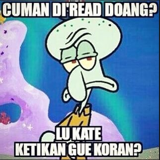 Unduh 1040 Gambar Kata Kata Lucu Spongebob Bahasa Jawa