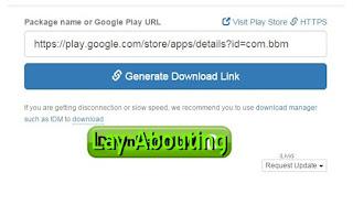 Cara Download APK File Di Google Play Lewat PC