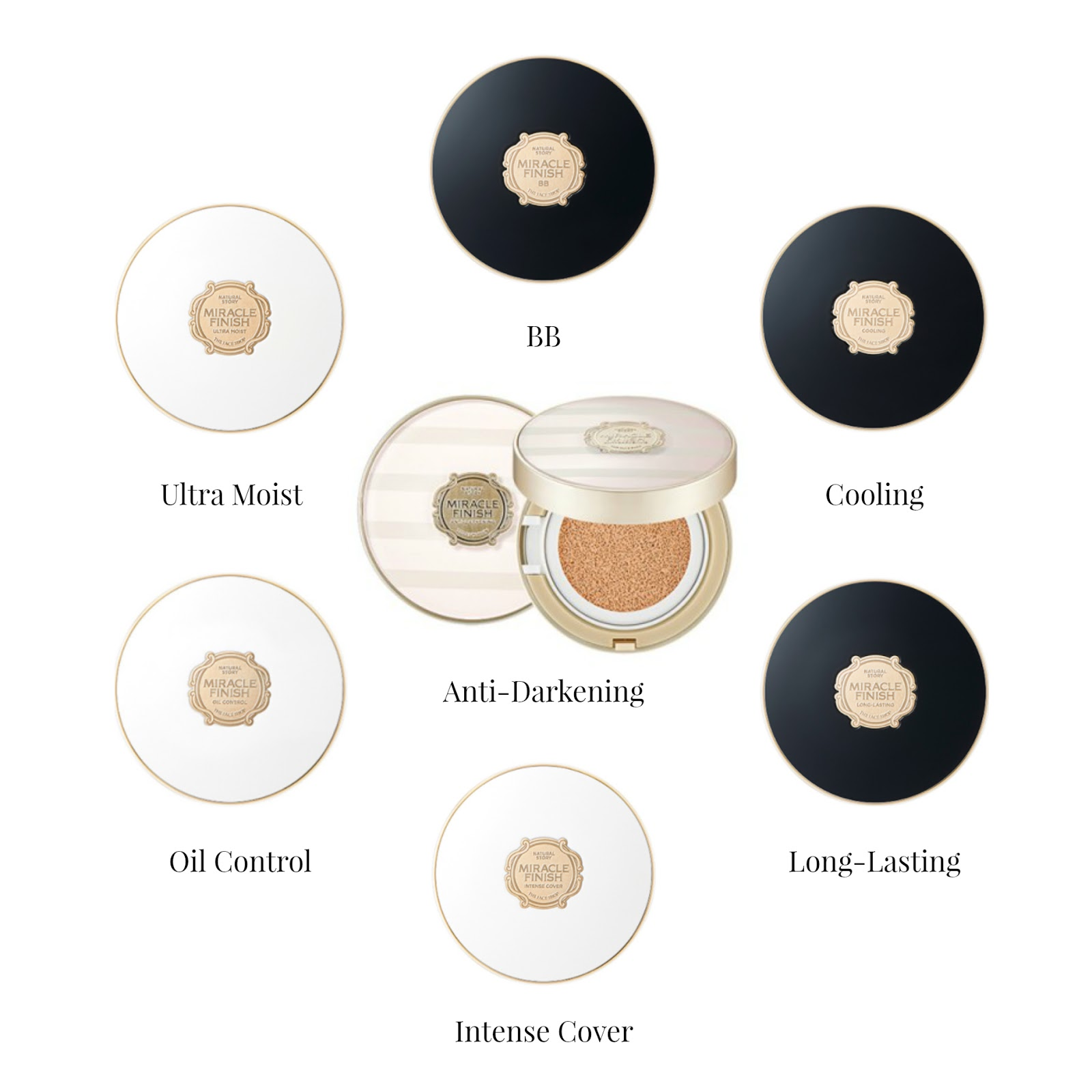 THE FACE SHOP Miracle Finish Anti-Darkening Cushion Giveaway ...