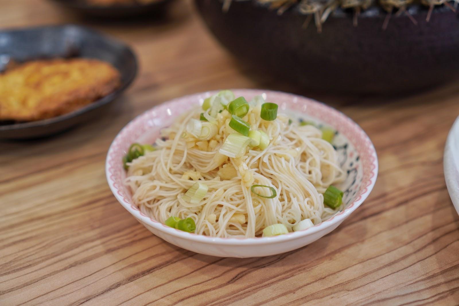 台南中西區美食【小蔡什鍋】餐點介紹 麻油麵線