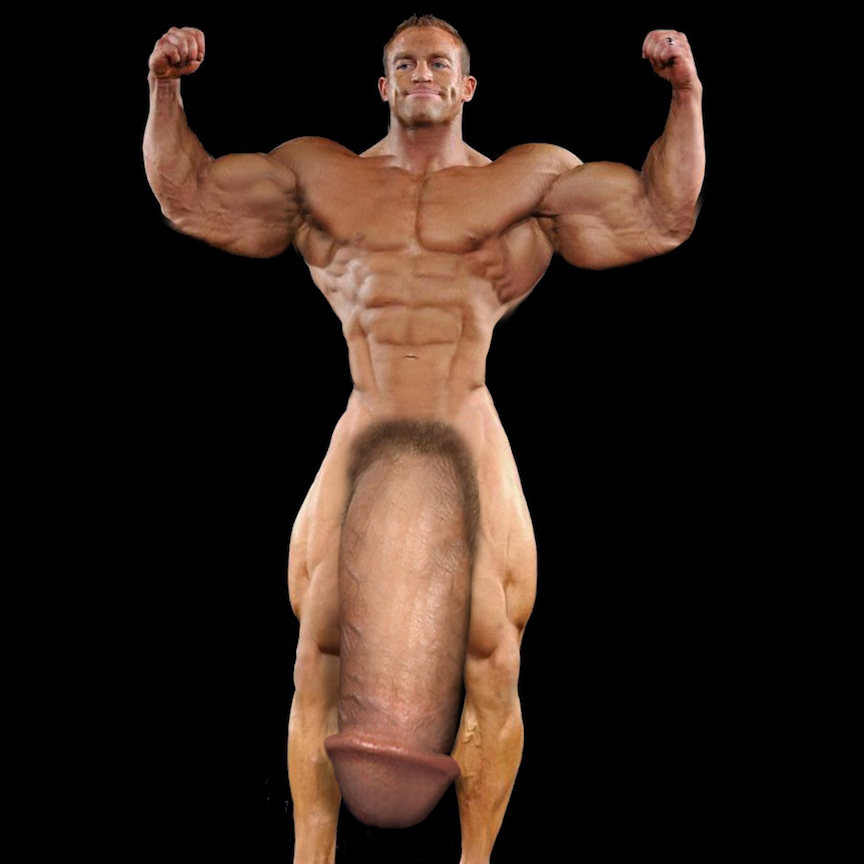 Penis Of Bodybuilder