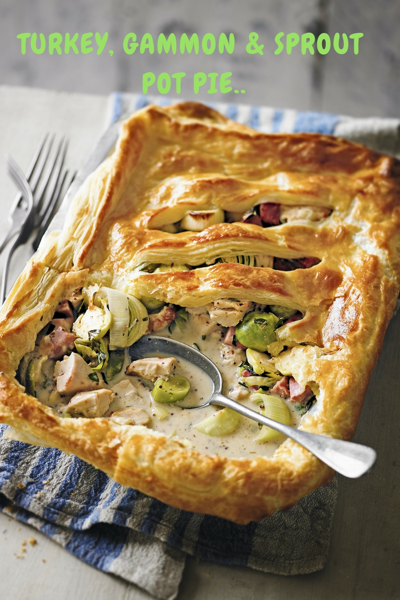 Turkey, Gammon And Sprout Pot Pie: A Perfect Recipe At Christmas