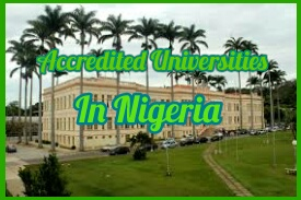 List of All Accredited State Universities in Nigeria