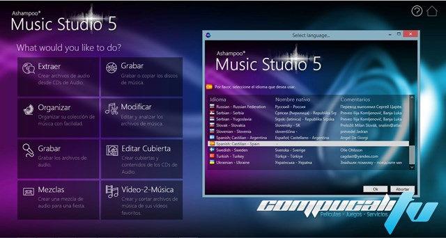 Ashampoo Music Studio 5 Español Versión 5.0
