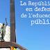 La República en defensa de l'educació pública