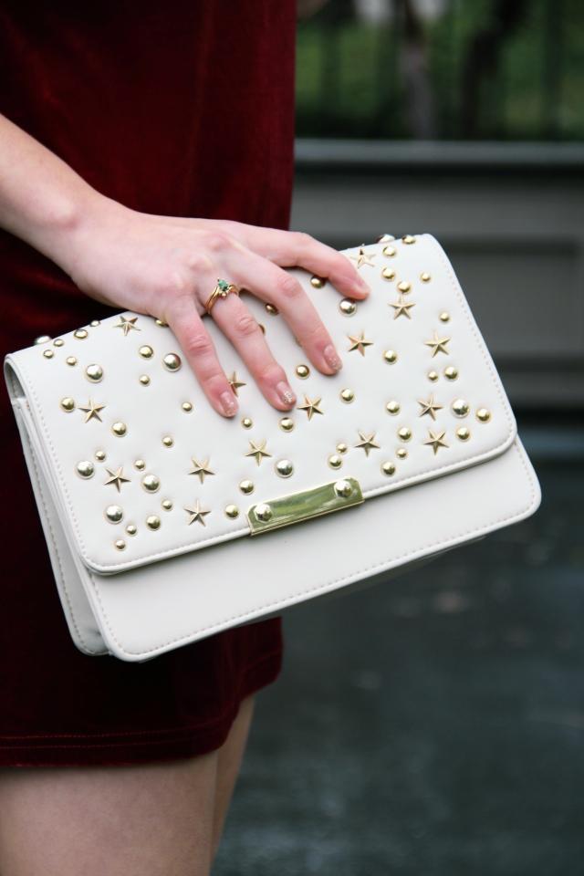 88 handbags allie crossbody convertible bag studded star embellished
