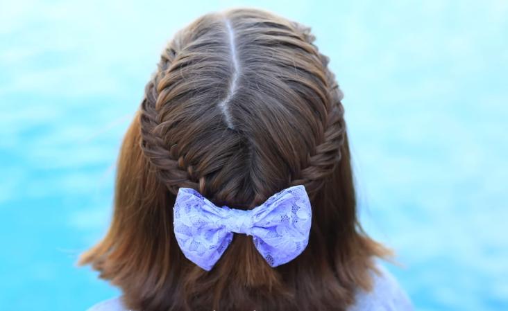 peinados con trenzas para nias con cabello corto