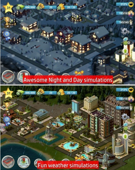 Game Offline City Island MOD APK