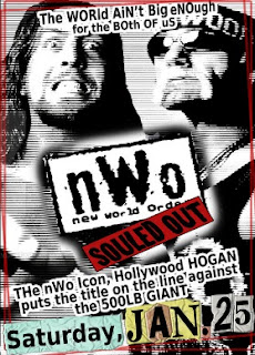WCW NWO Souled Out 1997 Event Poster