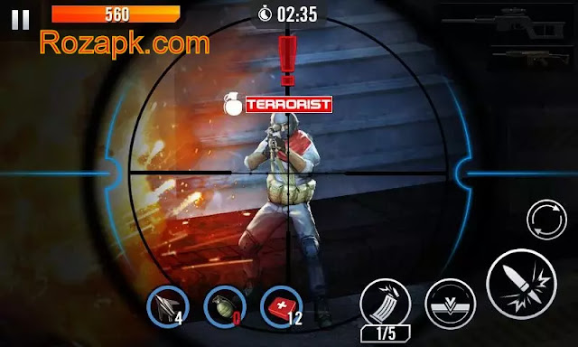 Elite Killer SWAT Apk Mod v1.2.2 Latest version For Android