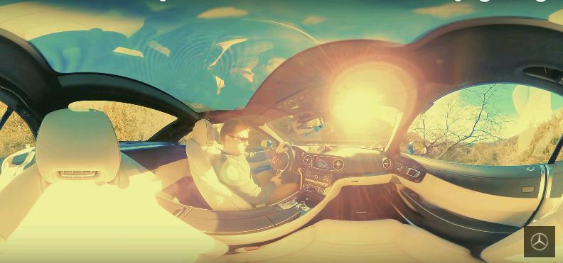 Quá ấn tượng với cách giới thiệu Mercedes-Benz SL 2017 từ Mercedes