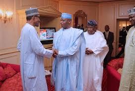 New PDP meets Buhari