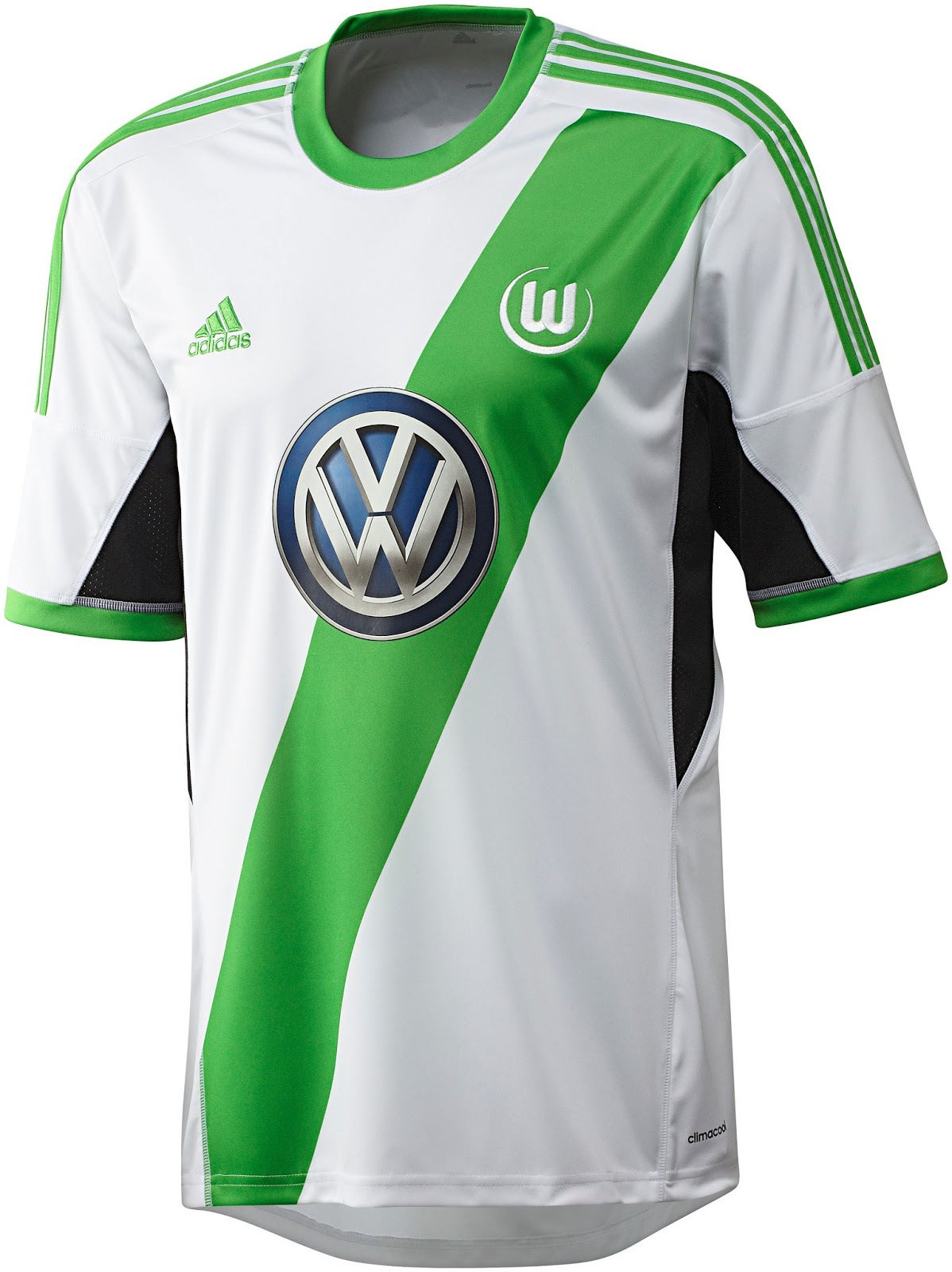 Vfl Wolfsburg 13 14 2013 14 Home And Away Kits Released