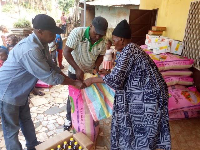 Minister Mbayu Felix Celebrates Christmas with Women