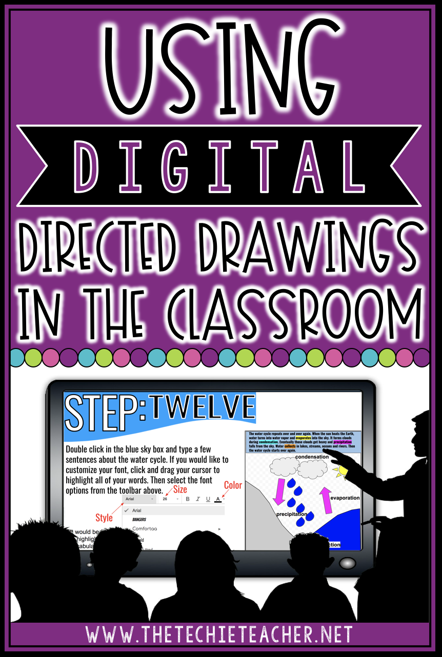 Have you tried DIGITAL directed drawings? These directed drawings all contain an academic element. Students will learn how to successfully design images on a digital canvas.