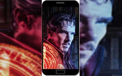Doctor Strange Profil - Fond d'Écran en QHD pour Mobile