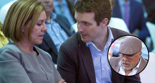 Cospedal anuncia a Casado que deja el Comité Ejecutivo Nacional del PP por las grabaciones de Villarejo