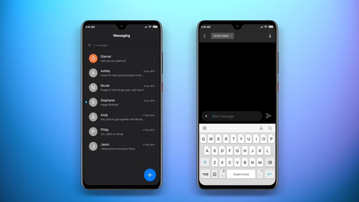 NIGHT MODE[11] MIUI 11 Based Theme