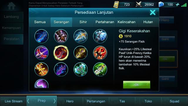 Item Mobile Legends : Build Item Mematikan Nana Part 2