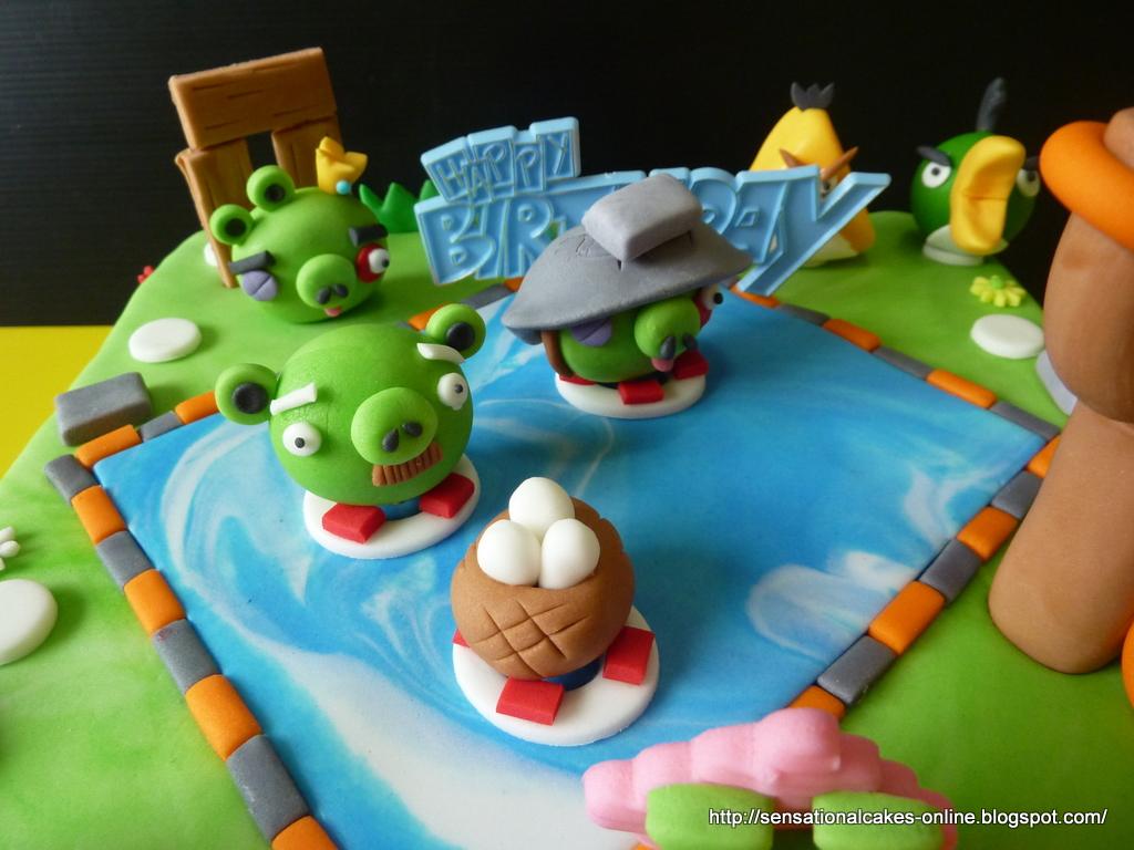 The Sensational Cakes A Bird Cake Hybrid Series
