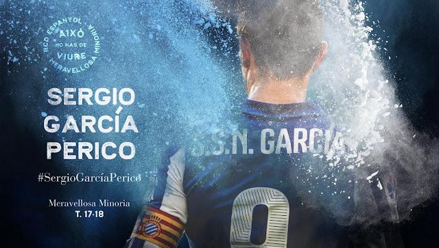 Sergio García vueve al Espanyol. Firma por una temporada ampliable.