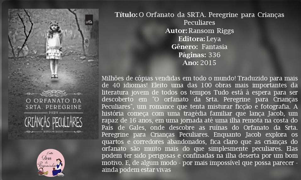 Blog Entre Livros & Pergaminhos