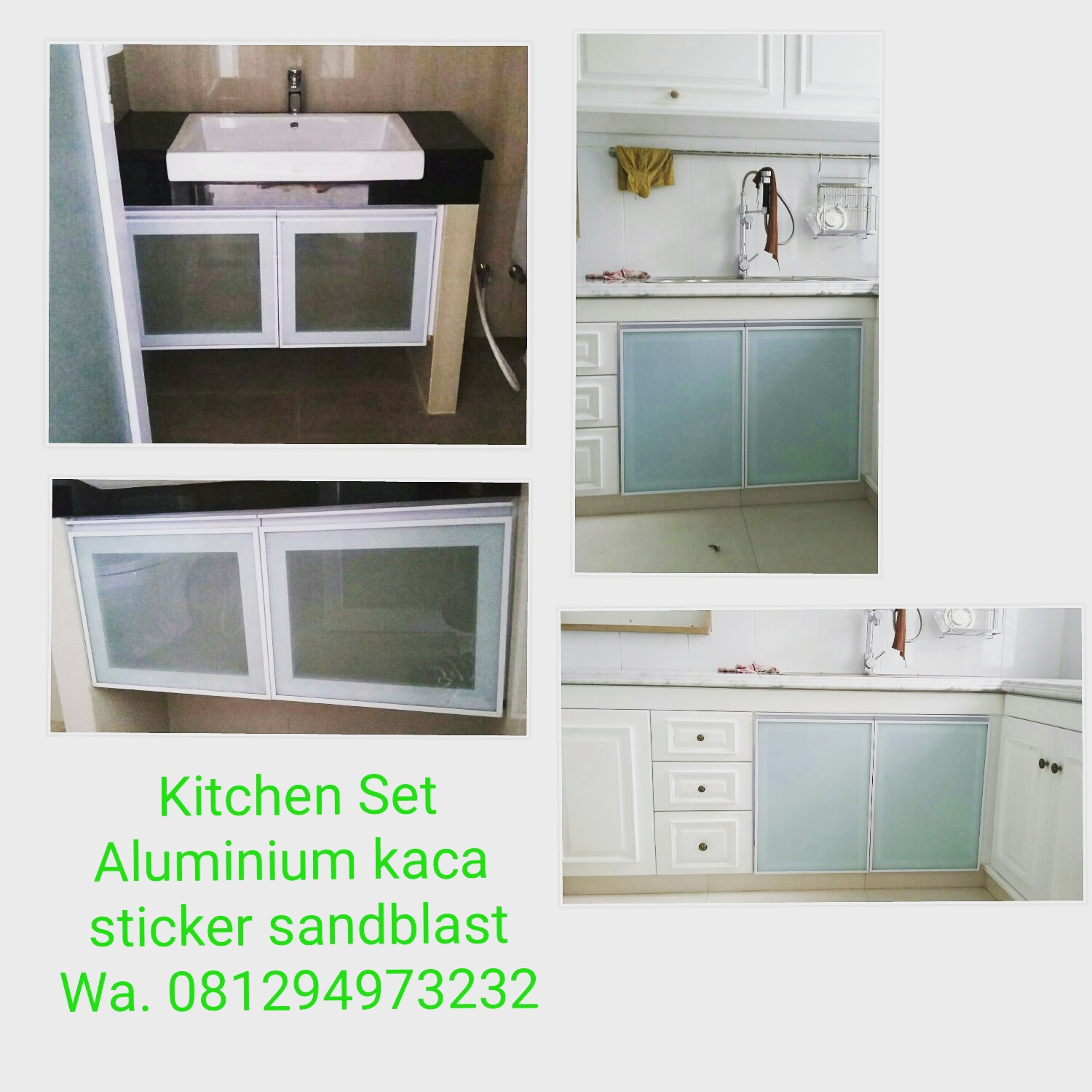 Mau Kitchen Set Murah & Minimalis & Awet & Anti Rayap