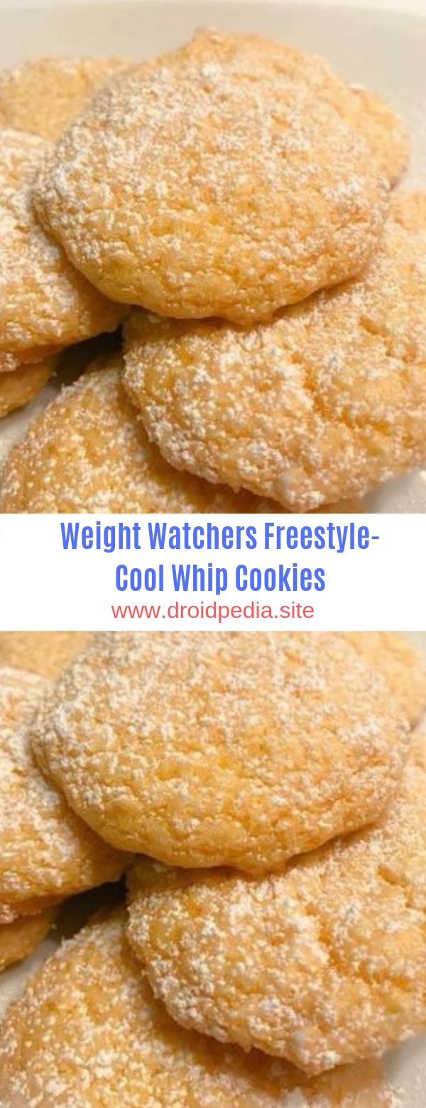 Weight Watchers Freestyle-Cool Whip Cookies