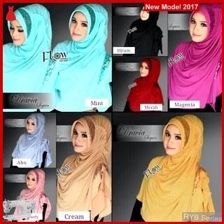 RYB019B Hijab Jilbab Cantik Syria Murah Dravia BMG Online Shop