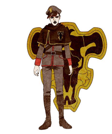 Kenichirou Matsuda como Gordon Agrippa
