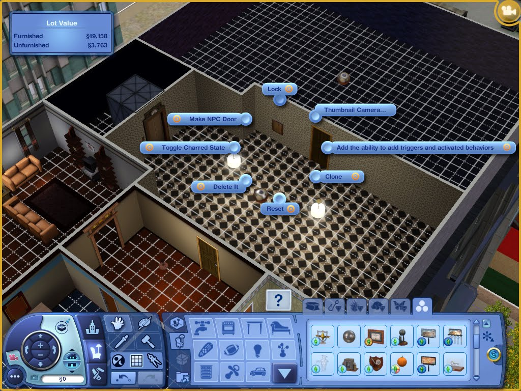 the sims depot create a world tips and tricks how to. Black Bedroom Furniture Sets. Home Design Ideas