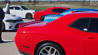 Charger Hellcats and Challengers