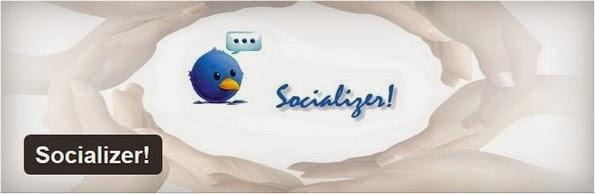 Socializer plugin for WordPress