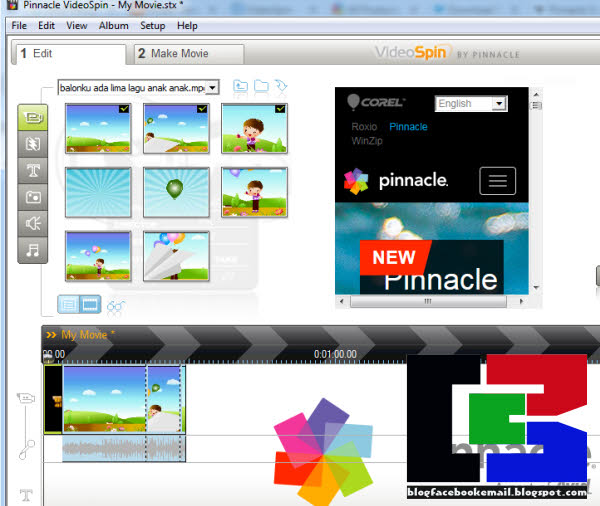 SCARICA PINNACLE VIDEOSPIN GRATIS