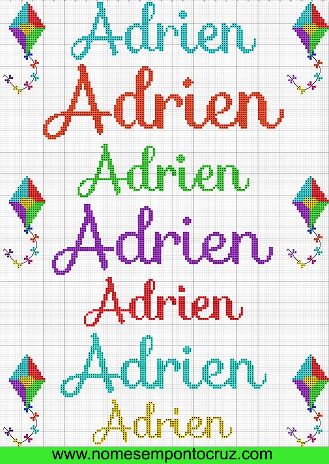 Nome Adrien em Ponto Cruz