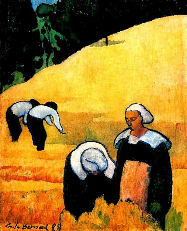 Colheita - Émile Bernard e suas principais pinturas
