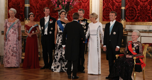 French Visit to Denmark: State Banquet Jewels