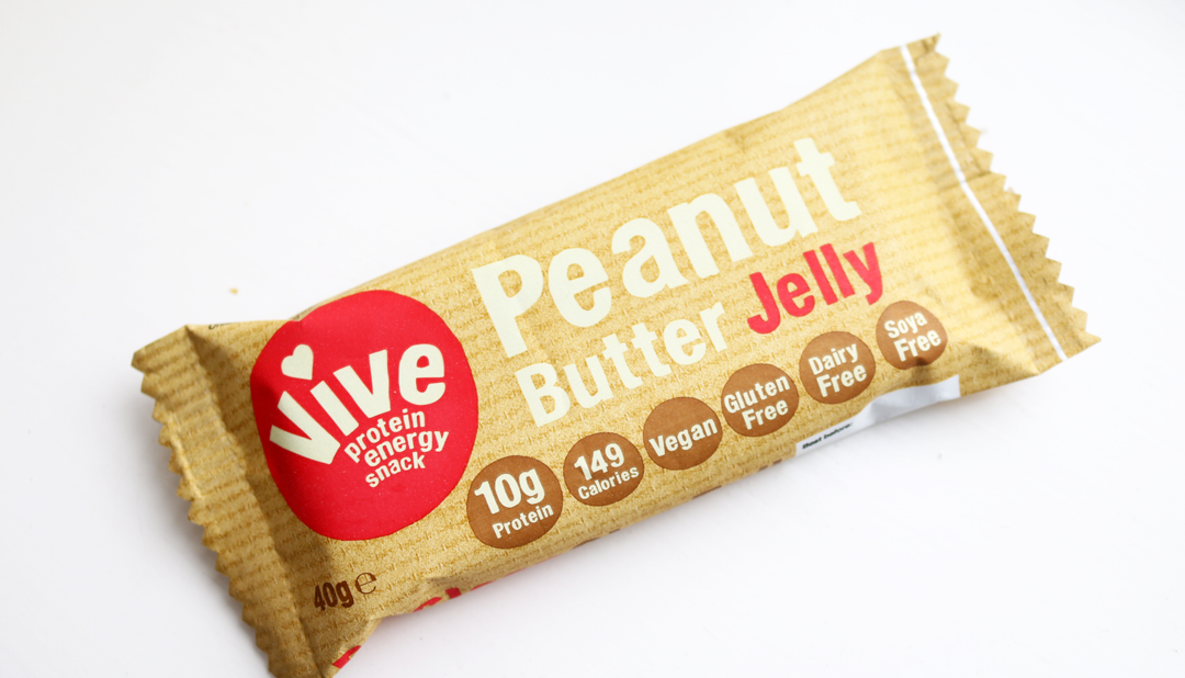 Eat Vive Peanut Butter Jelly Protein Bar