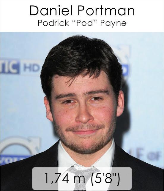 "Daniel Portman (Podrick ""Pod"" Payne) 1.74 m"