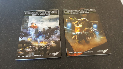 A couple of  Dropzone Commander books.