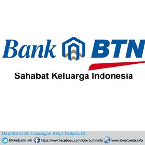 Informasi Lowongan Kerja Bank BTN (Bank Tabungan Negara) 2017 untuk banyak posisi lulusan SMA SMK D3 S1 Semua jurusan