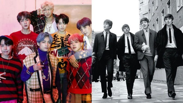BTS has Broken The Beatles' Record on Billboard 200!